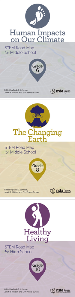 STEM Road Map covers