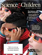 Cover of the summer 2017 issue of Science and Children.