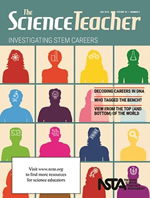 The Science Teacher cover