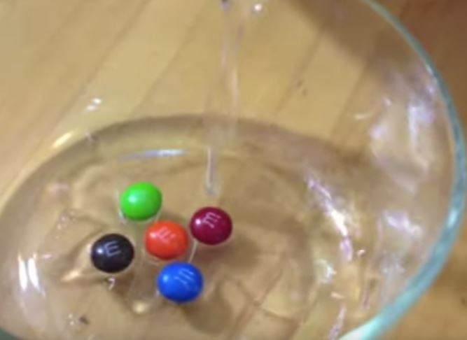 M&M's in bowl
