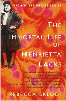 Book cover Immortal Life of Henrietta Lacks