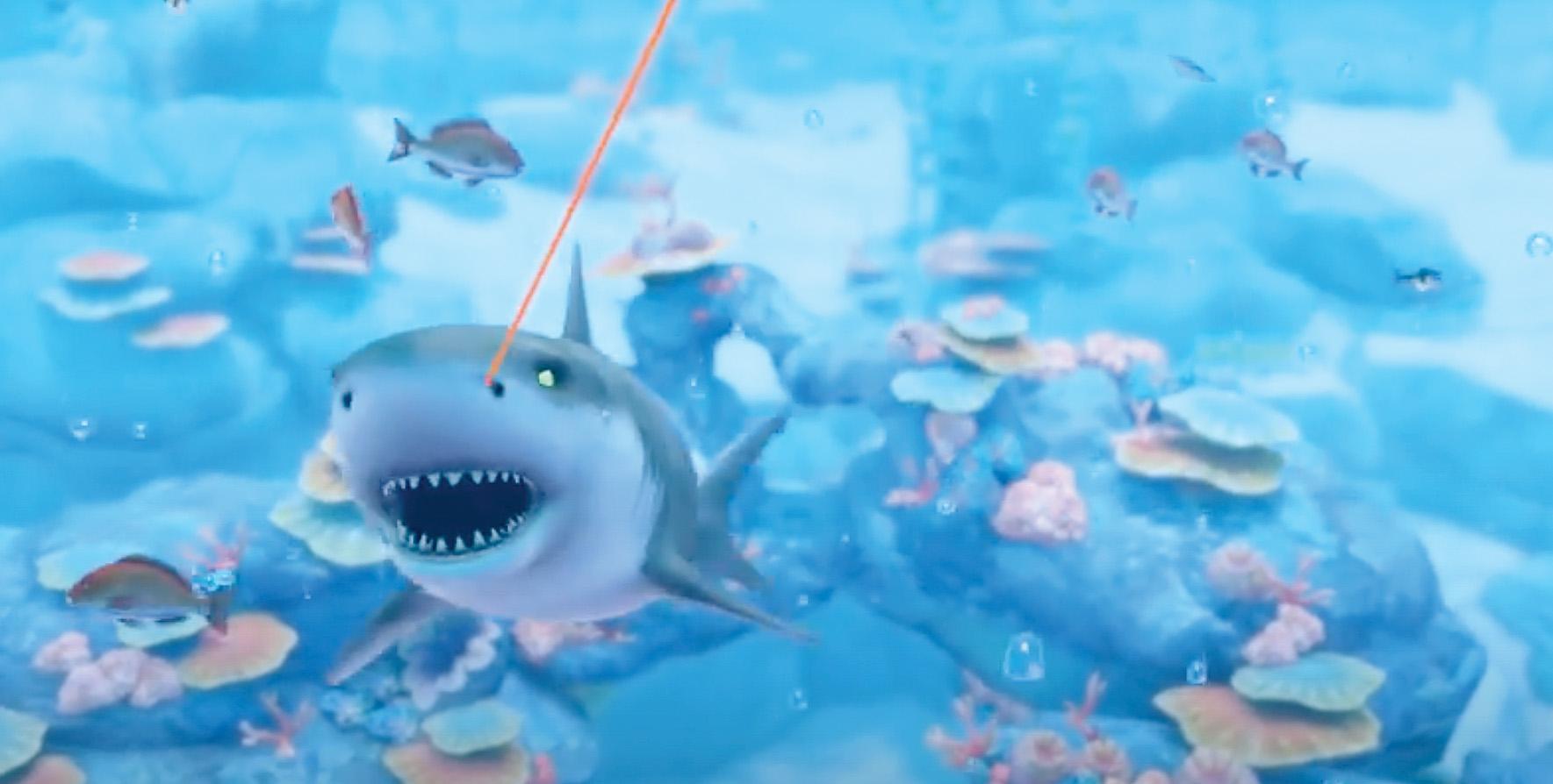 Nintendo Labo aquarium on the Nintendo Switch